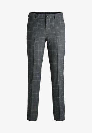 SUPER SLIM FIT - Spodnie garniturowe - dark grey
