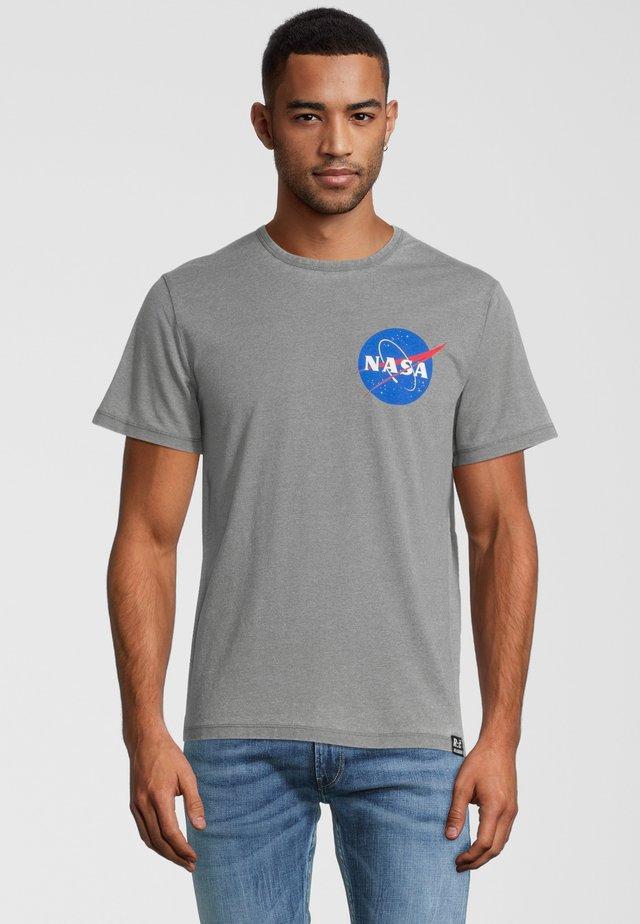 NASA POCKET LOGO - Printtipaita - grau