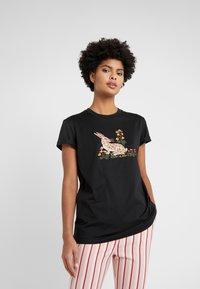 Vivetta - T-shirt con stampa - black - 0