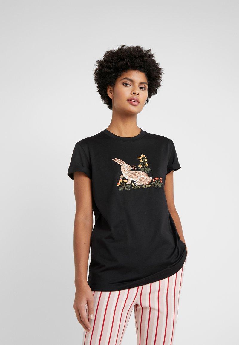 Vivetta - T-shirt con stampa - black
