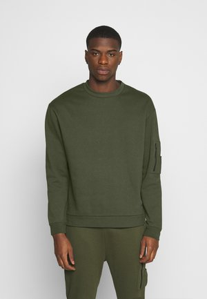 COMBAT CREW - Sweatshirt - khaki
