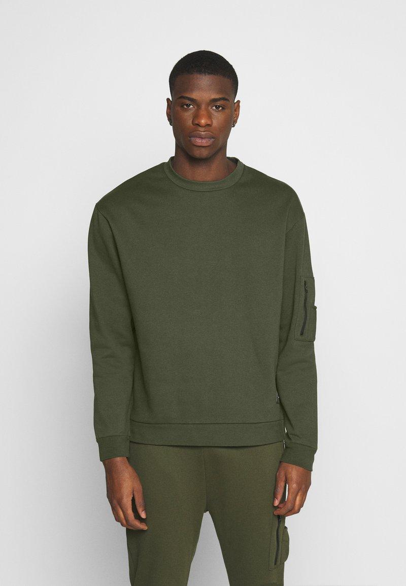 Nominal - COMBAT CREW - Sweatshirts - khaki
