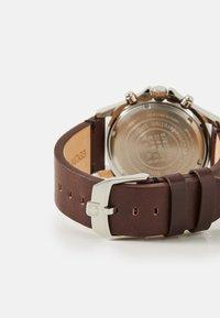 Swiss Military Hanowa - FLAGSHIP RACER - Chronograph watch - green/black/brown - 1