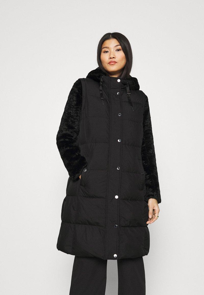 comma - Winter coat - black