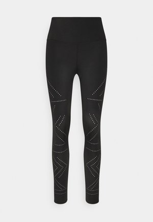 NAIRA LEGGING CROPPED - Leggings - black