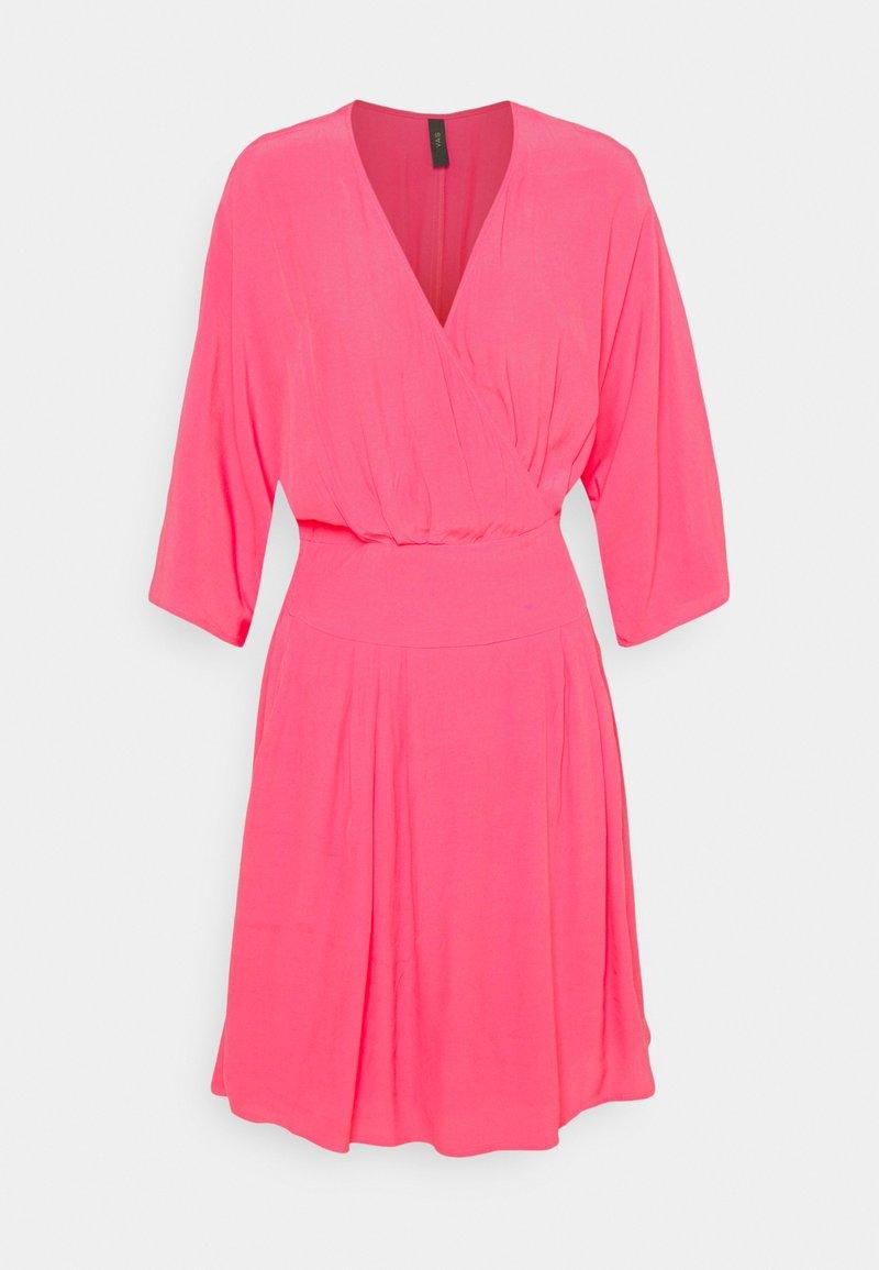 YAS - YASELIVO DRESS - Day dress - fandango pink
