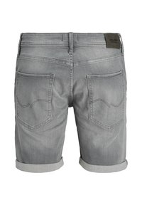 Jack & Jones - Denim shorts - grey denim - 1