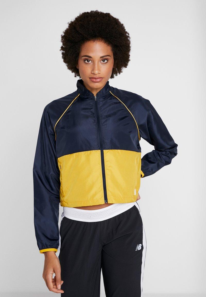 New Balance - VELOCITY JACKET - Sports jacket - varsgold
