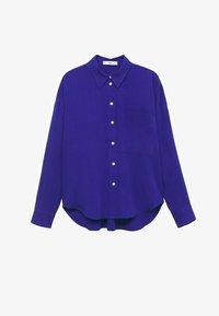 Mango - Button-down blouse - bleu - 6