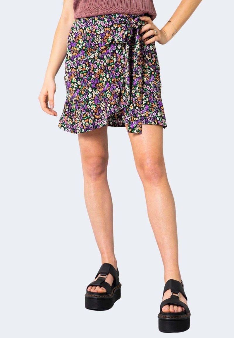 ONLY - ONLOLIVIA WVN NOOS - A-line skirt - violet