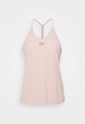 FEMME ELASTIKA TANK - Toppe - pink oxford/metallic gold