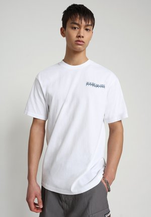 SOLE GRAPHIC - T-shirt med print - bright white