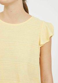 Vila - Basic T-shirt - sunlight - 3