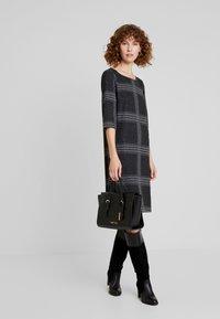 Esprit - SWEAT DRESS - Gebreide jurk - black - 2