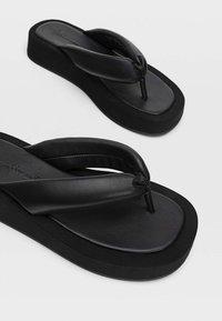 Stradivarius - Sandals - black - 4