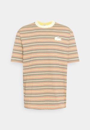 UNISEX - T-shirt print - briquette/multicolour