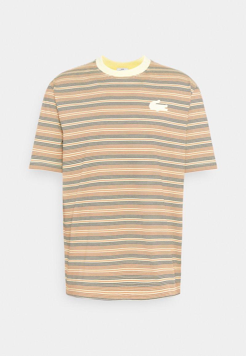 Lacoste LIVE - UNISEX - Print T-shirt - briquette/multicolour