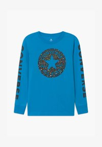 Converse - CHUCK PATCH GRAPHIC TEE UNISEX - Long sleeved top - sail blue - 0
