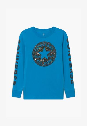 CHUCK PATCH GRAPHIC TEE UNISEX - Camiseta de manga larga - sail blue
