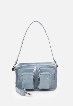 ELLIE CROCO - Handbag - light blue
