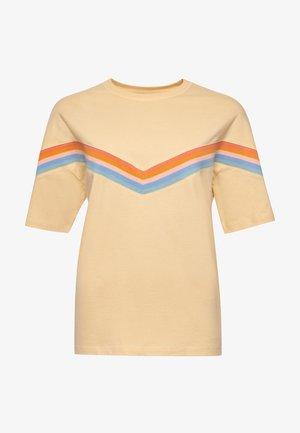 Print T-shirt - mellow sun