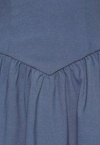 Fashion Union - ROMA DRESS - Day dress - blue - 3