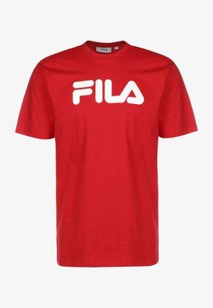 PURE - T-shirt z nadrukiem - true red