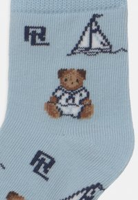 Polo Ralph Lauren - BEAR 3 PACK - Sokken - blue/white - 2