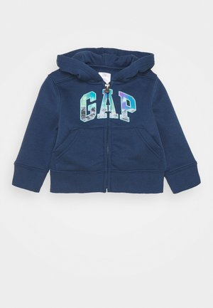 TODDLER BOY LOGO NOVELTY - veste en sweat zippée - night
