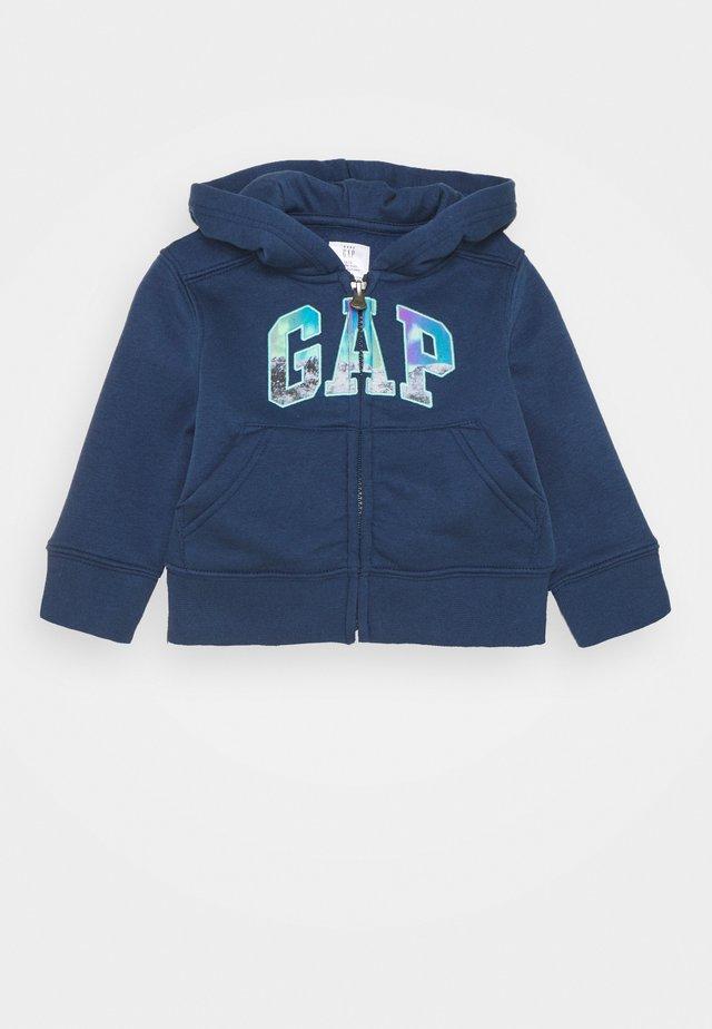 TODDLER BOY LOGO NOVELTY - Zip-up hoodie - night