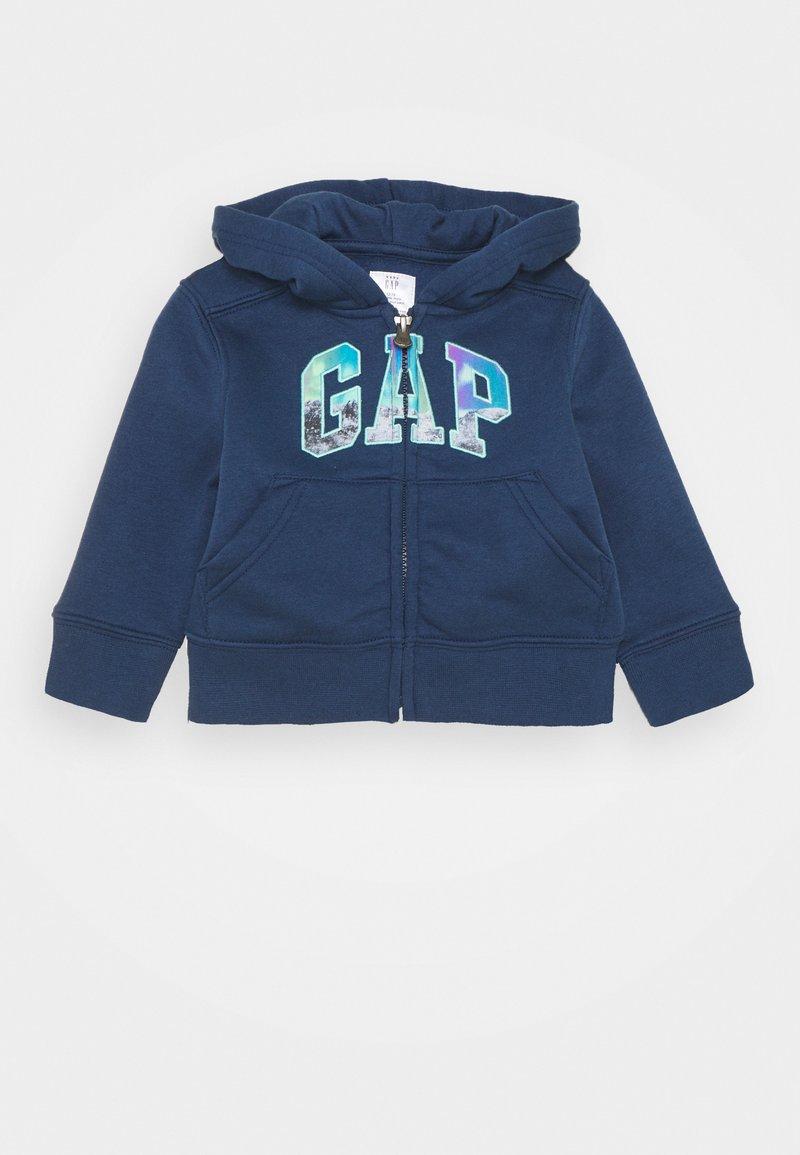 GAP - TODDLER BOY LOGO NOVELTY - Zip-up sweatshirt - night
