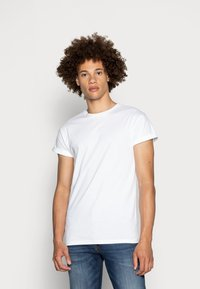Topman - 5 PACK - T-shirts basic - white/black/grey - 1