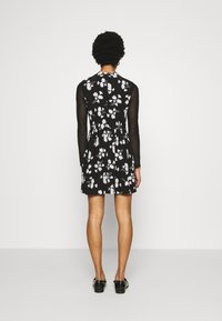 Calvin Klein Jeans - FLORAL DRESS - Day dress - black - 4