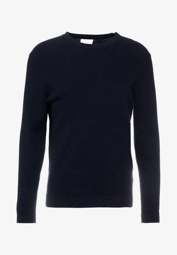 JULIAN - Stickad tröja - navy blue