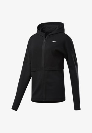 QUIK COTTON HOODIE - Zip-up hoodie - black