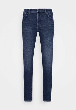 LEON  - Slim fit jeans - dark blue denim