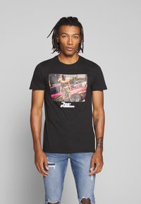 Bioworld - FAST AND THE FURIOUS TEE - Triko s potiskem - black - 0