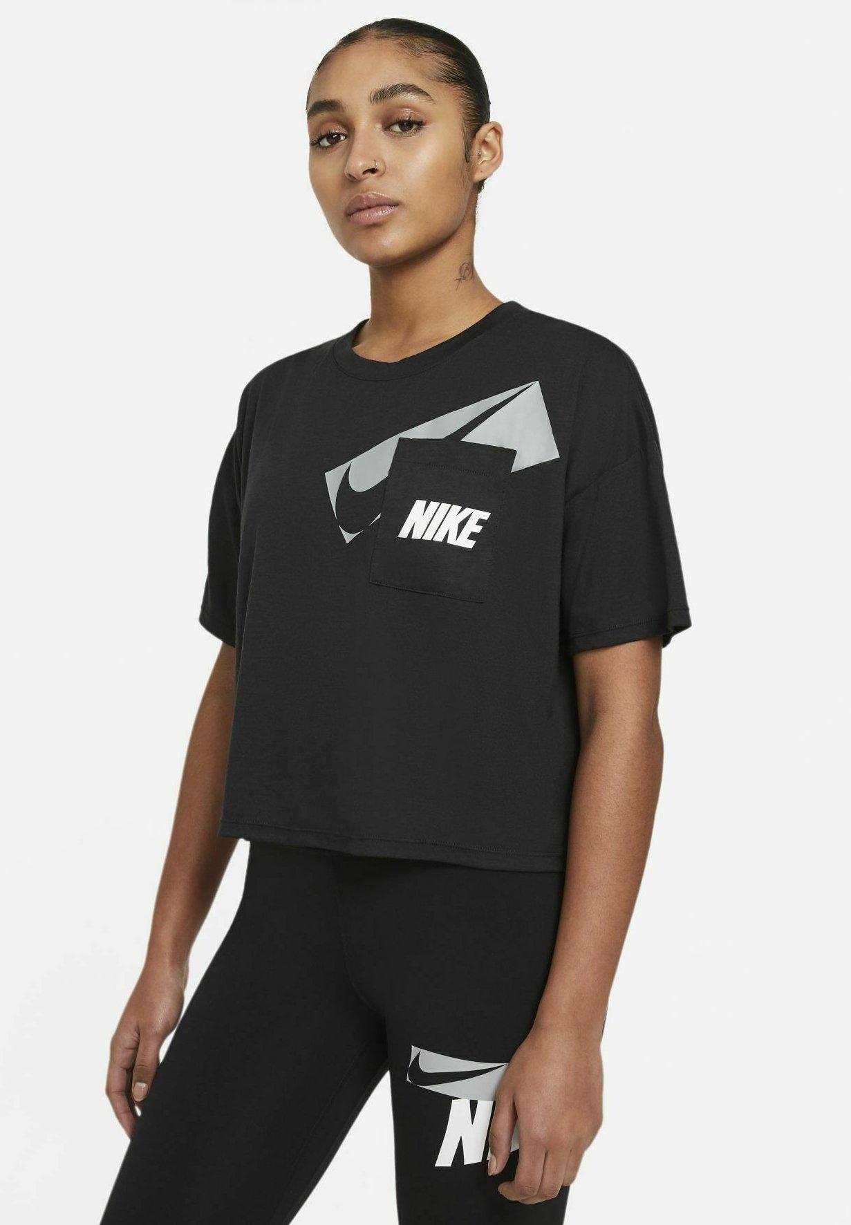 Femme DRY CROP - T-shirt imprimé