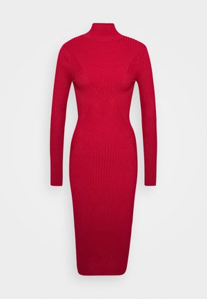 PHERSON - Shift dress - red
