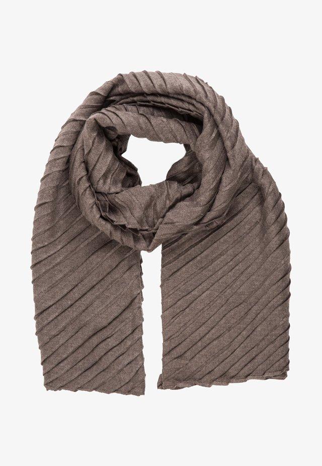 Sjaal - braun-melange