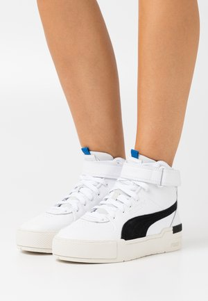 CALI SPORT TOP CONTACT  - High-top trainers - white/marshmallow