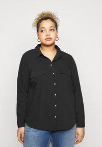Vero Moda Curve - VMLOLENA CURVE - Košile - black - 0