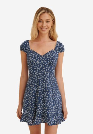 Day dress - blue flower