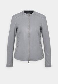 Oakwood - PRESTIGE - Leather jacket - light grey - 4