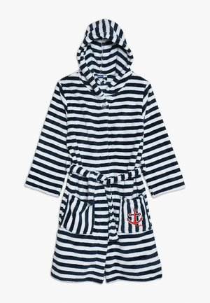 RINGEL MARITIM - Dressing gown - white/dark blue