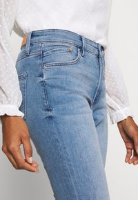 s.Oliver - LANG - Slim fit jeans - middle blue - 3