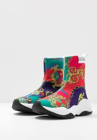 Versace Jeans Couture - CHUNKY SOLE - High-top trainers - multicolor - 4