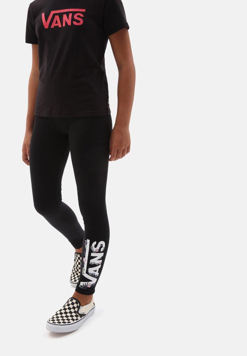 Vans - GR BLOZZOM LEGGING - Leggings - Trousers - black