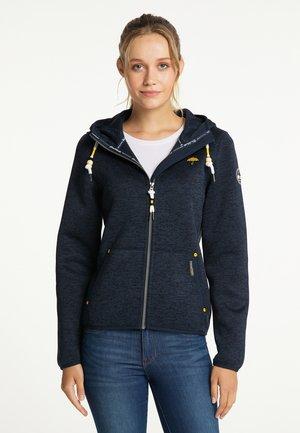 Fleece jacket - marine melange