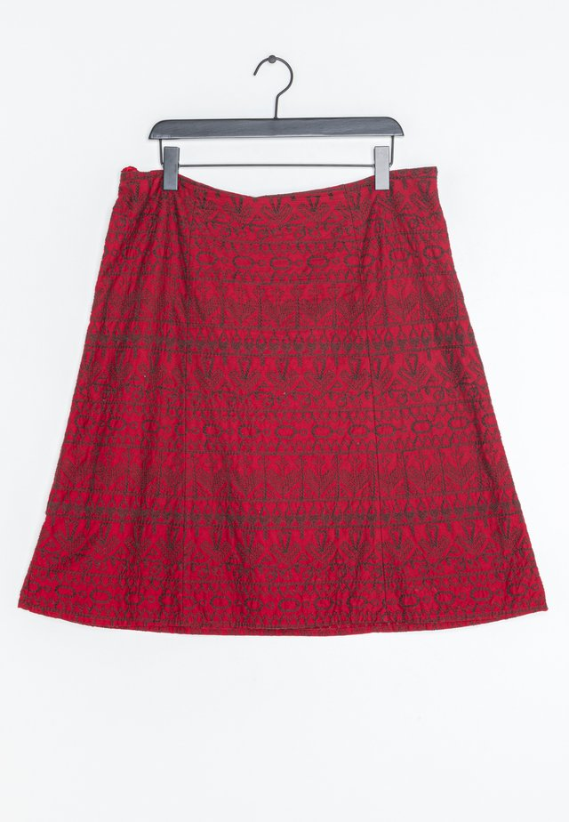 A-lijn rok - red